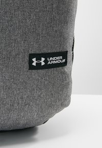 Under Armour - ROLAND  - Rucksack - graphite medium heather/black/white - 9
