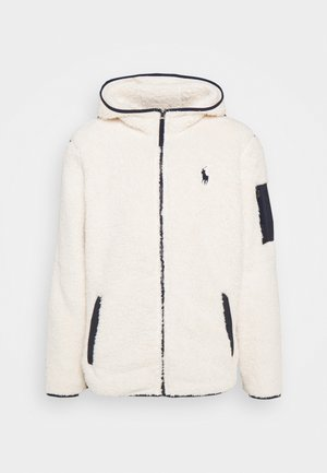 LONG SLEEVE FULL ZIP - Fleece jacket - winter cream
