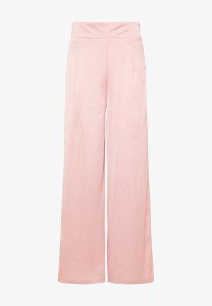 MARLENE - Trousers - dunkelrosa