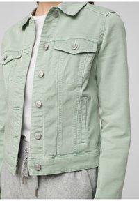 Q/S designed by - Denim jacket - mint - 4