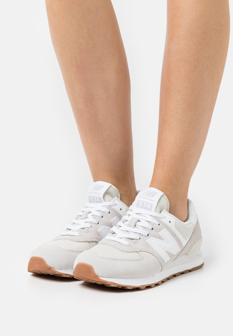 New Balance - WL574 - Sneakers - silver
