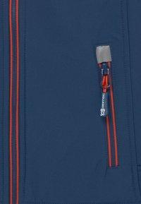 TrollKids - TROLLFJORD UNISEX - Softshellová bunda - mystic blue/orange - 2