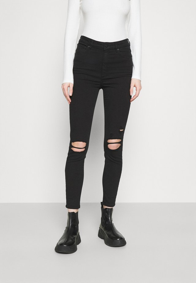 HIGH ANKLE BASHER - Jeans Skinny Fit - black magic