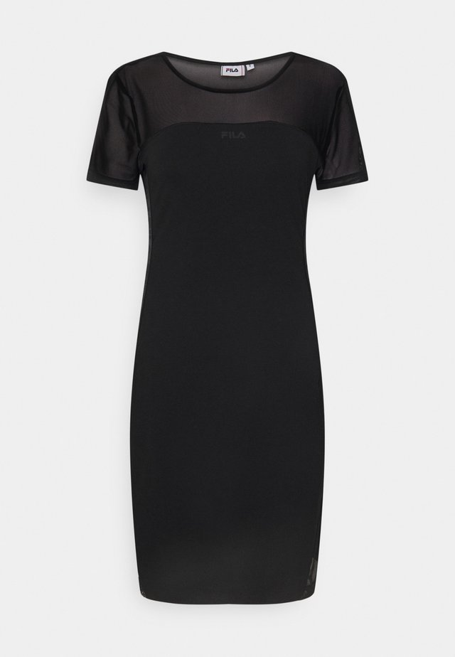 NAKIA TIGHT DRESS - Jersey dress - black