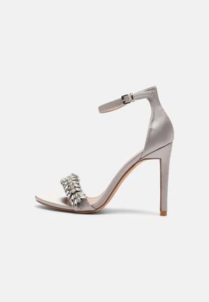 CHRISTAL - High heeled sandals - grey