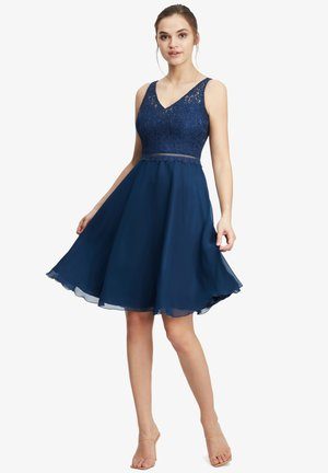 Cocktail dress / Party dress - festival blue