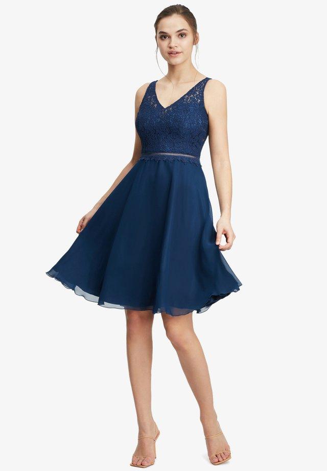 Cocktail dress / Party dress - festival blue