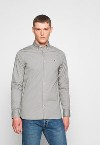 Tommy Hilfiger - SLIM STRETCH - Overhemd - grey - 0