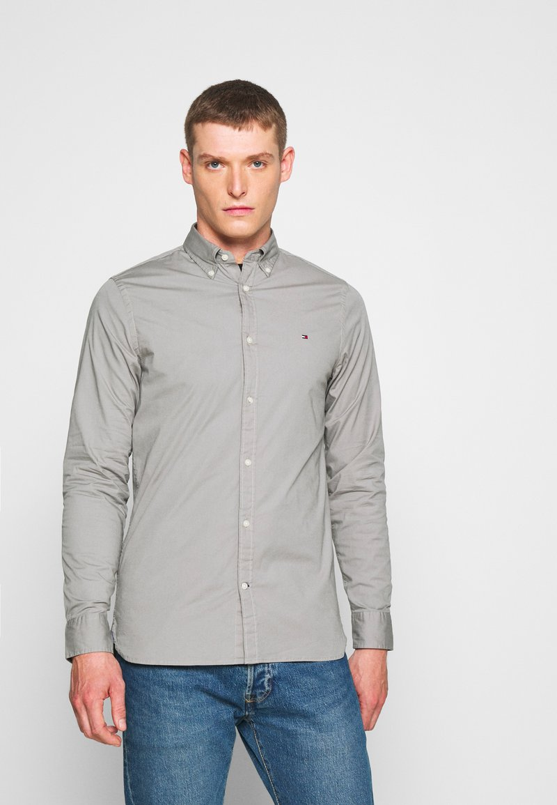 Tommy Hilfiger - SLIM STRETCH - Overhemd - grey