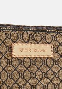 River Island - SET - Across body bag - brown - 5