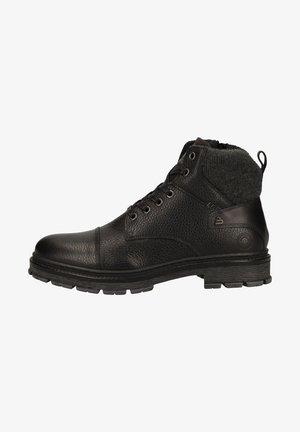 Lace-up ankle boots - black bkdg