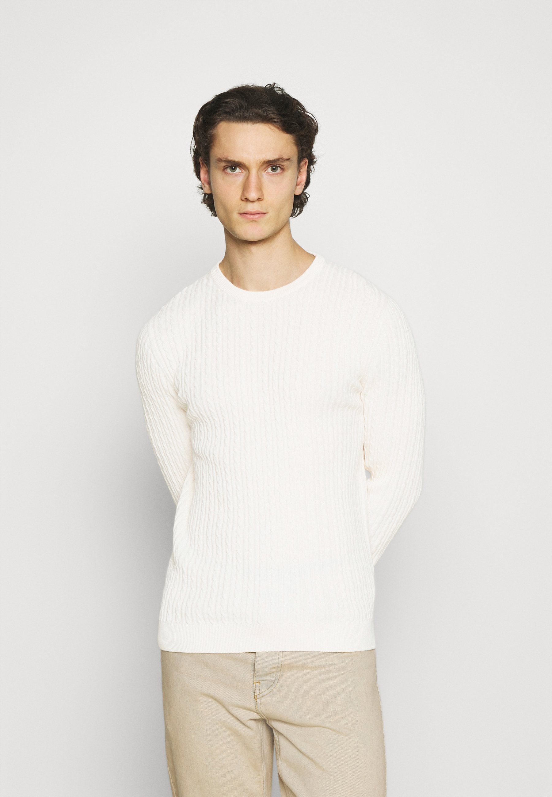 Homme JJQUINTON CREW NECK - Pullover