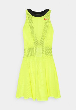 DRESS - Jurken - lemon/bright crimson