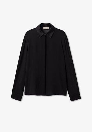 Button-down blouse - nero