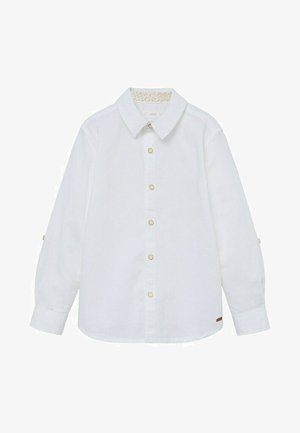 ABETO - Shirt - blanc
