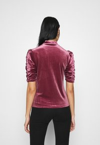 Monki - NARIN TOP - Long sleeved top - wine red - 2