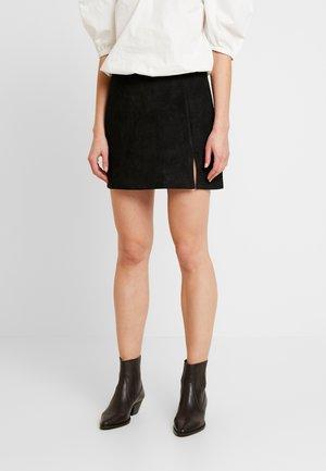 ANNABELLE MINI SKIRT - Mini skirt - black