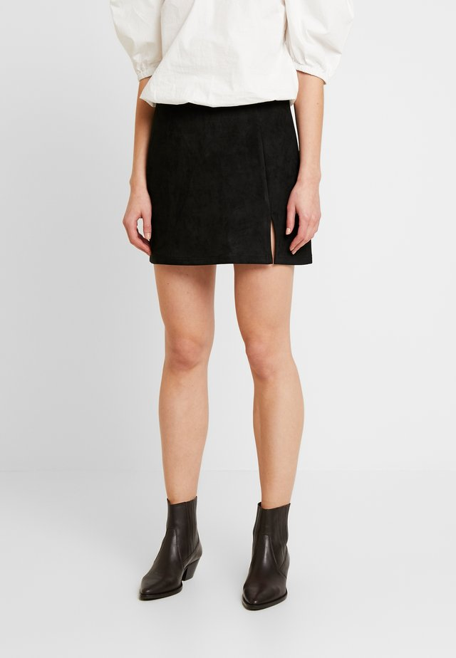 ANNABELLE MINI SKIRT - Minijupe - black