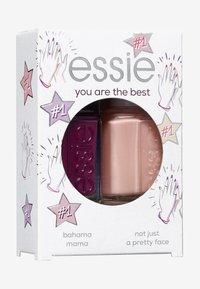 Essie - NAILPOLISH GIFT SET YOU'RE THE BEST - Nagelverzorgingsset - 44 bahama mama/11 not just a pretty face - 1