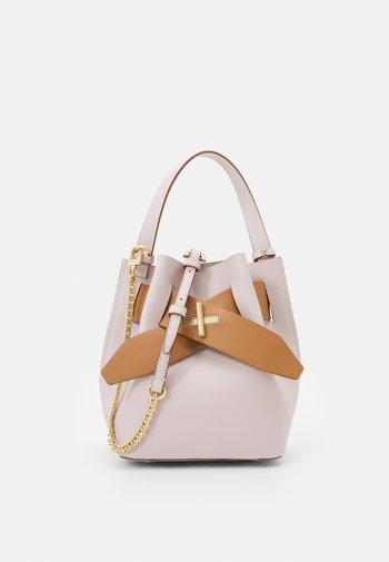 BRIGETTE BELTED BUCKET - Handbag - multi/rose
