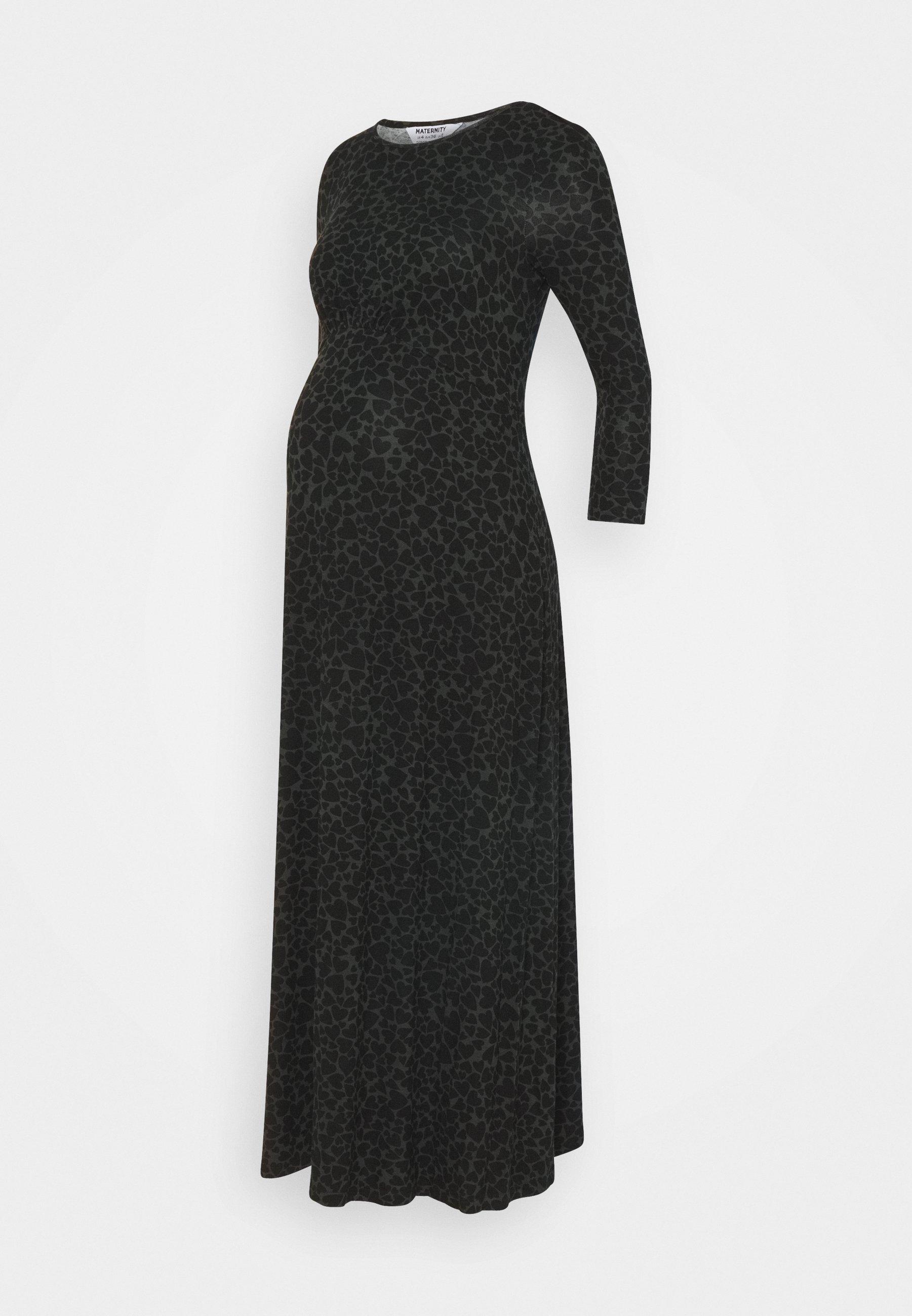 Women HEART SLEEVE EMPIRE SEAM MIDI DRESS - Jersey dress