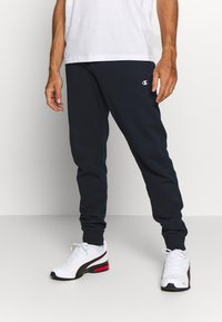 Champion - CUFF PANTS - Verryttelyhousut - navy - 0