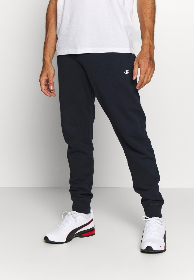 Champion - CUFF PANTS - Verryttelyhousut - navy