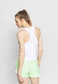 Under Armour - RUN FLORAL TANK - Top - white - 2