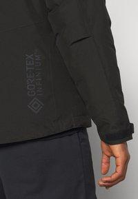 Carhartt WIP - GORE TEX MICHIGAN COAT - Light jacket - black - 4