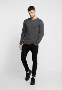 Jack & Jones - JJEHILL - Jumper - dark grey melange - 1
