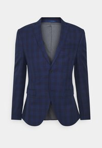 Isaac Dewhirst - CHECK SUIT - Oblek - blue - 1