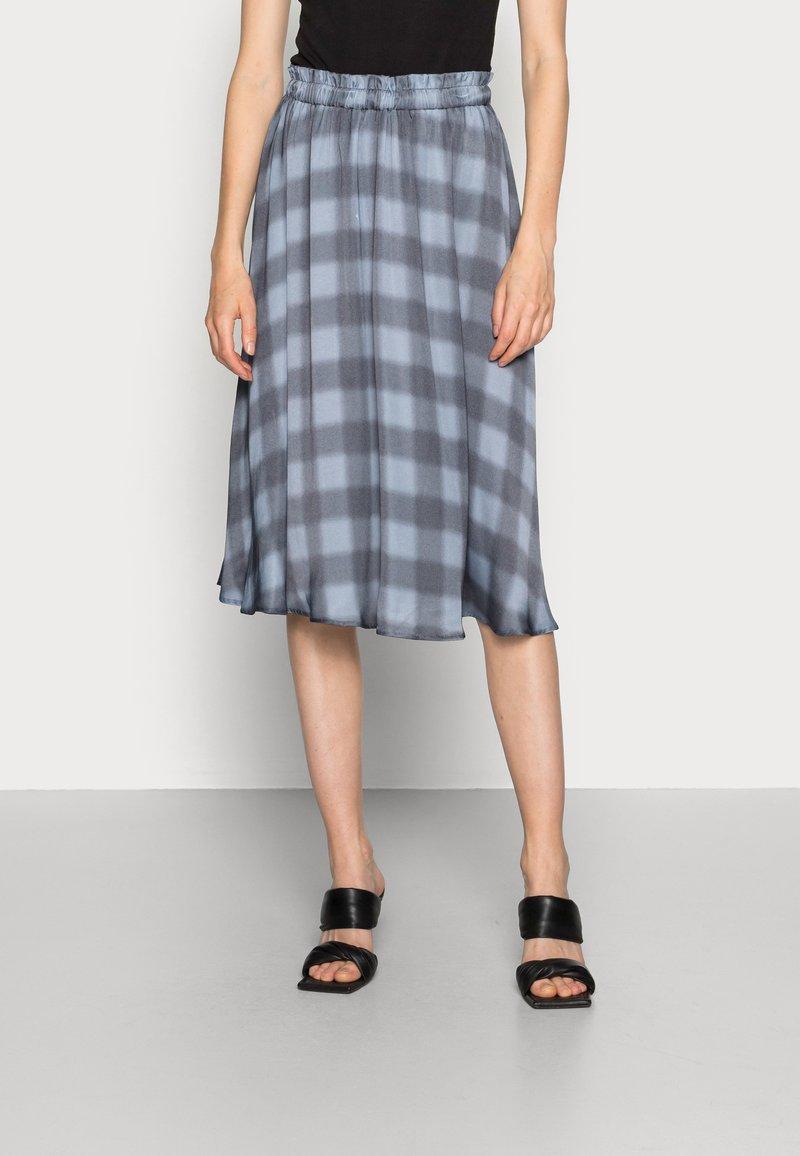 Mos Mosh - BELINI VICE SKIRT - A-line skirt - ombre blue