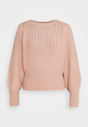 PCDENVER O NECK - Jumper - misty rose