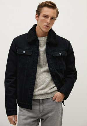 WASP - Veste en jean - black denim