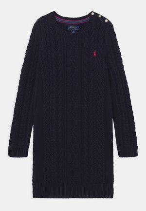 ARAN DAY DRESS - Robe pull - navy