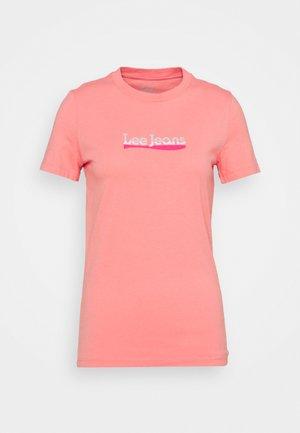 SLIM LOGO TEE - Print T-shirt - cherry blossom