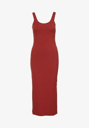 YASBLAX LONG DRESS - Maxikjole - red ochre