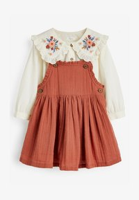 Next - BLOUSE AND PINAFORE SET  - Day dress - brown - 2