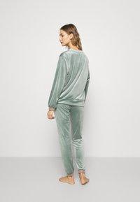 Hunkemöller - Nattøj bukser - balsam green - 2