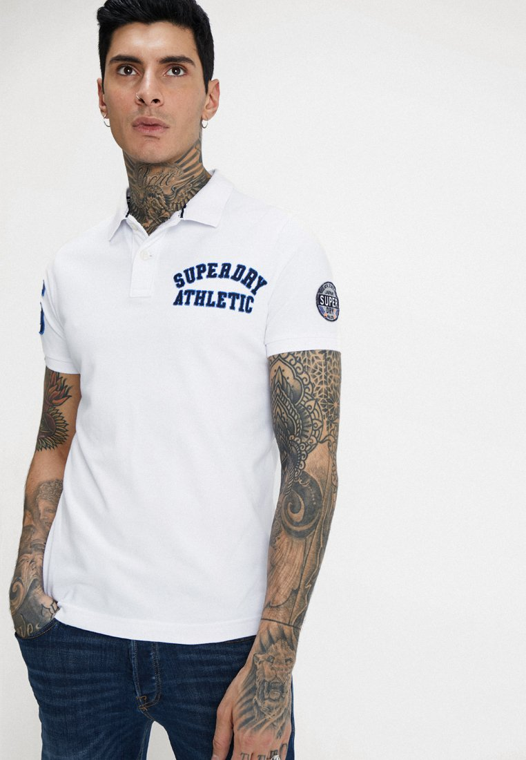 Superdry - CLASSIC SUPERSTATE  - Polo - optic