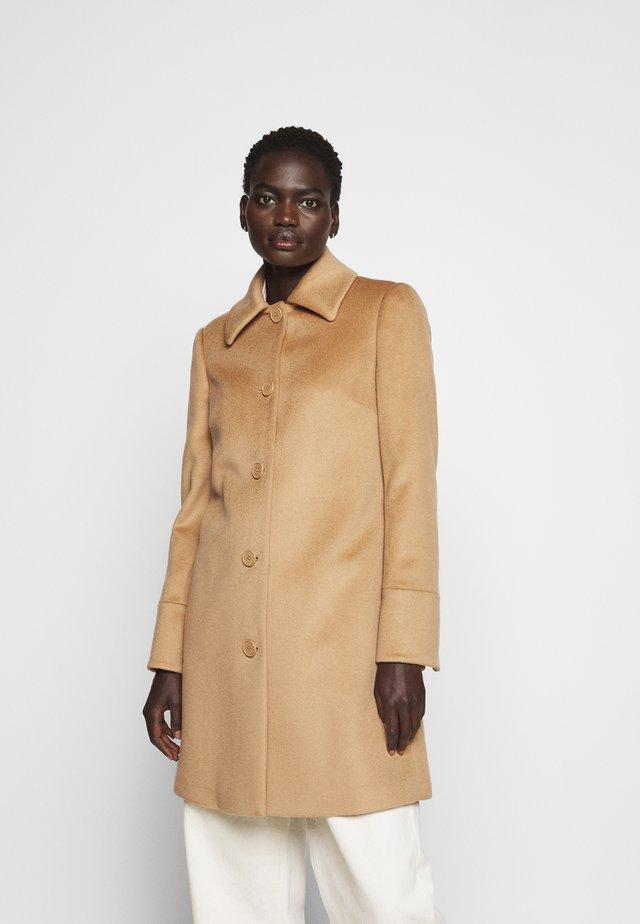 JET - Zimní kabát - camel