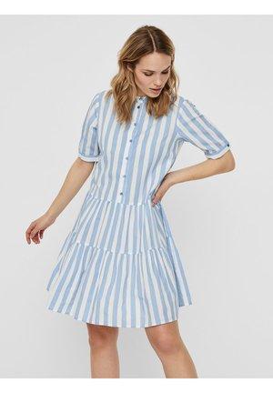 STEHKRAGEN - Shirt dress - placid blue