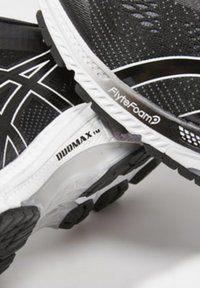 ASICS - GEL-KAYANO 26 - Stabilty running shoes - black/white - 5