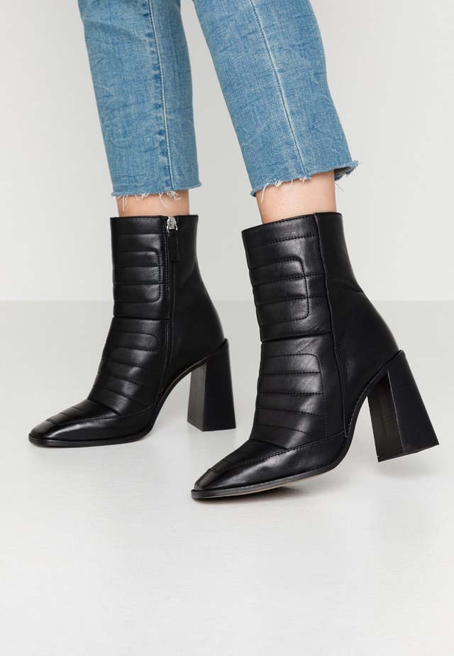 MILLENIAL BOOT - High heeled ankle boots - black