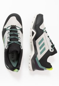 adidas Performance - TERREX AX3 GTX - Hiking shoes - grey two/signal green - 1