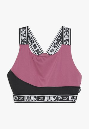 OLIVIA - Sport BH - pink/black