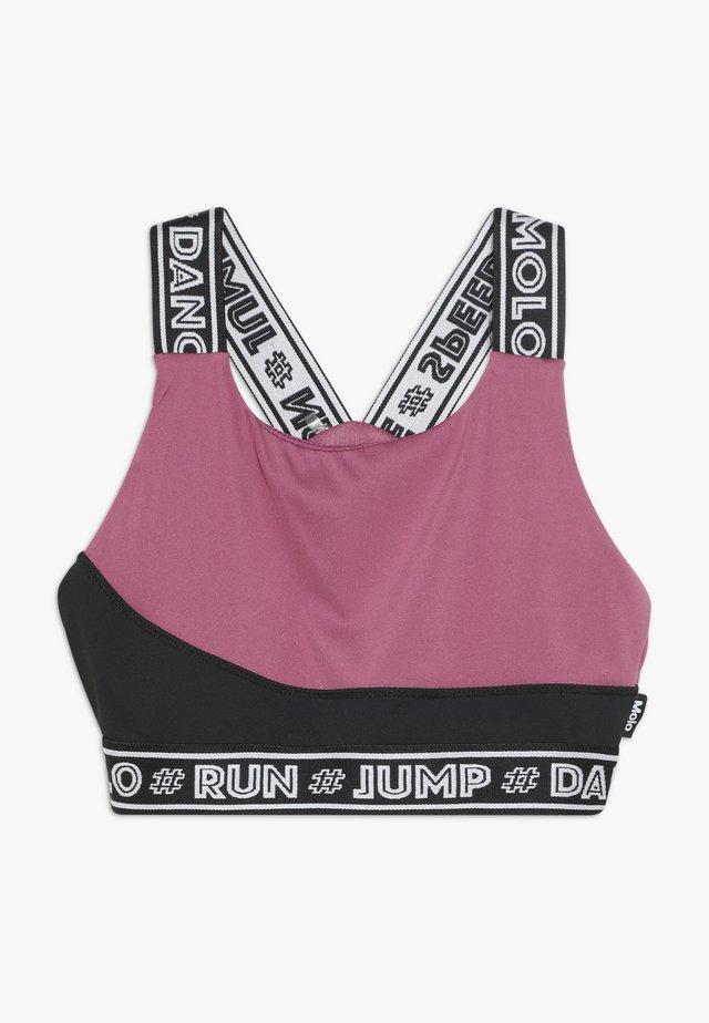 OLIVIA - Sport-bh - pink/black