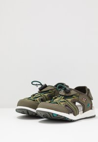 Viking - THRILL - Walking sandals - olive/huntinggreen - 3