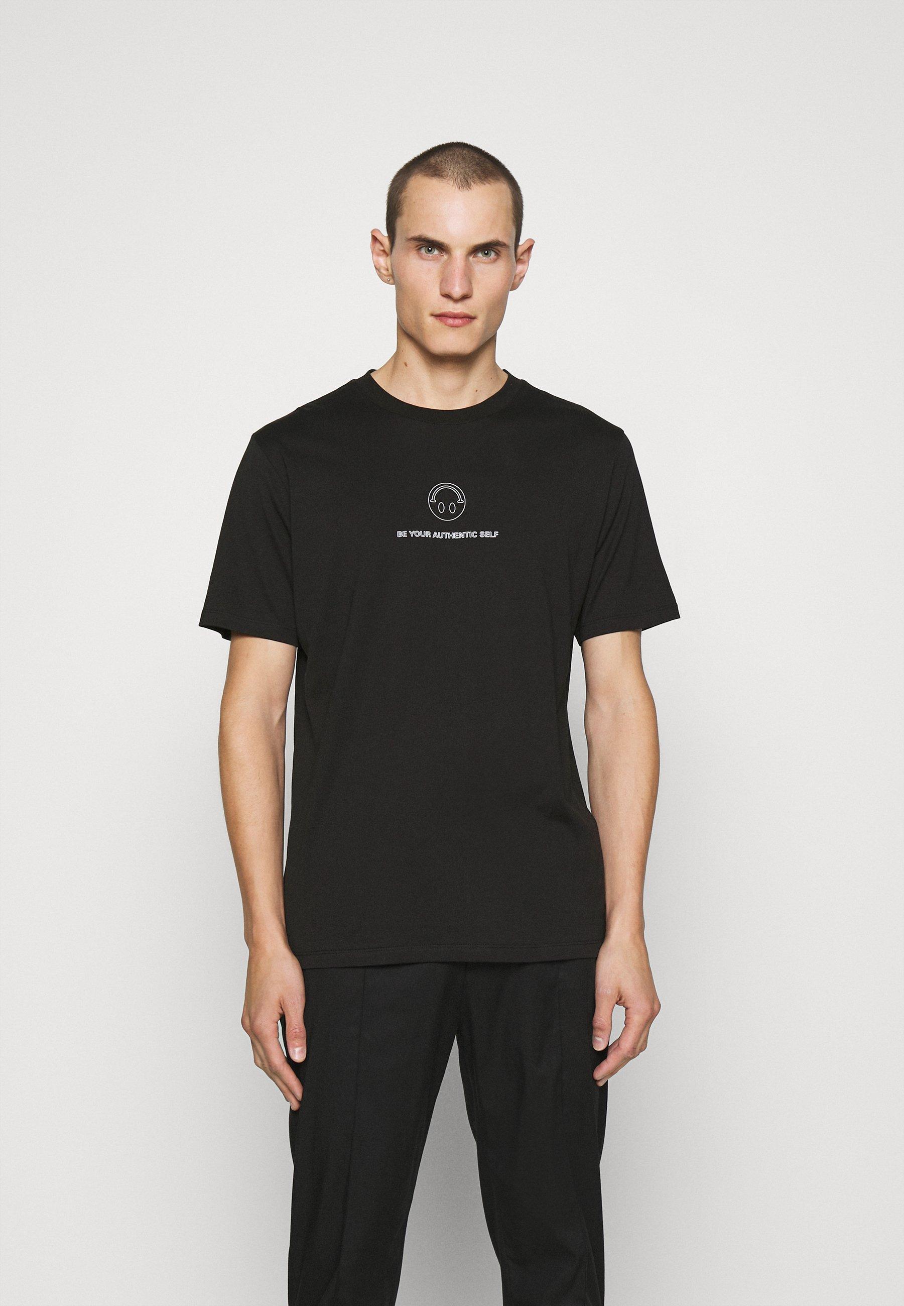 Men HUGO x Smiley® DEPPELIN  - Print T-shirt