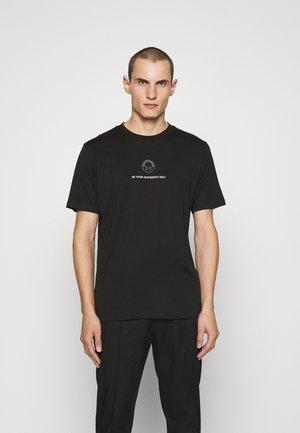 HUGO x Smiley® DEPPELIN  - Print T-shirt - black